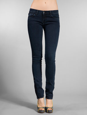 Navy Blue Skinny Jeans Photo Album - Reikian